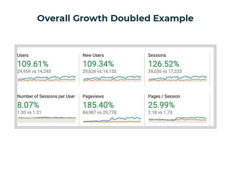Over 100% Growth Case Study